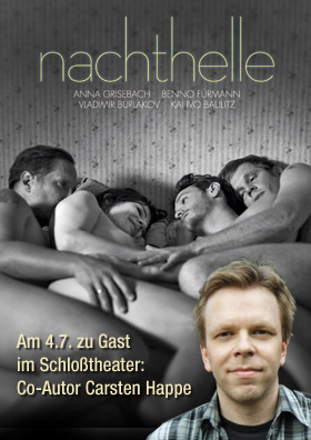 NACHTHELLE mit Besuch von Co-Autor Carsten Happe