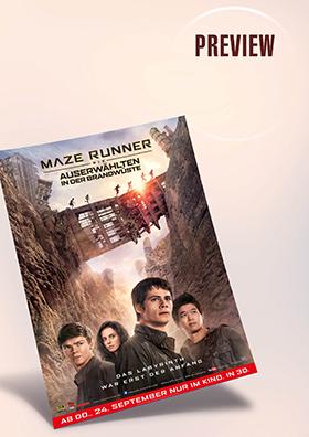 Preview: Maze Runner - Die Auserwählten in der Brandwüste