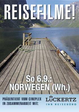 Reisefilm: NORWEGEN (Wh.)