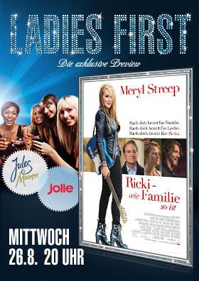 "Ladies-First-Preview ""Ricki - Wie Familie so ist """