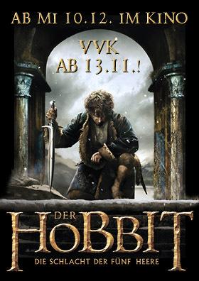 VVK-Start für den dritten HOBBIT am am 13.11.!