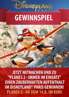 Planes 2 - Das Gewinnspiel
