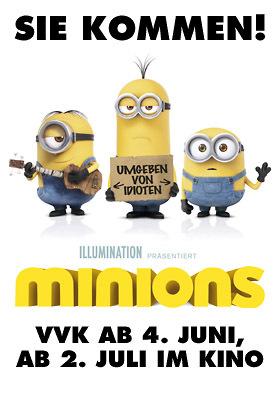 MINIONS: VVK ab 4. Juni!