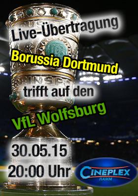 DFB-Pokalfinale am Samstag, 30.05. ab 20.00 Uhr