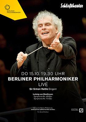 Berliner Philharmoniker: Beethoven mit Sir Simon Rattle