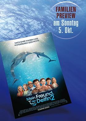 Familien Preview: MEIN FREUND DER DELFIN 2