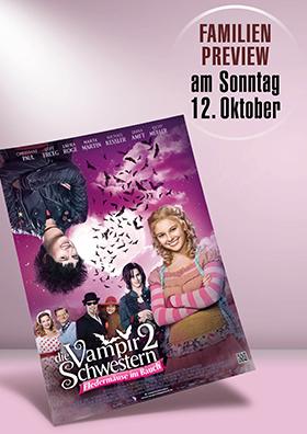 Familien-Preview: Die Vampirschwestern 2 - Fledermäuse im Bauch