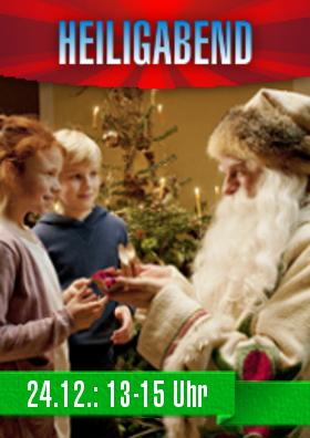 Der Weihnachtsmann kommt ins CINEWORLD