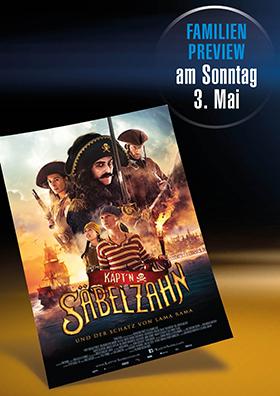 "Familienpreview ""Käpt´n Säbelzahn"""