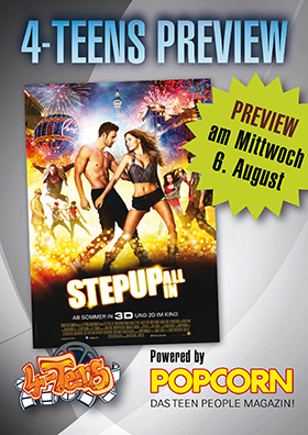 4Teens-Preview STEP UP: ALL IN 3D