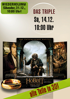 Das Hobbit-Triple