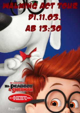Walking Act - Mr. Peabody & Sherman