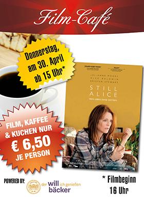 """Film-Café """"Still Alice - Mein Leben ohne Gestern"""""""