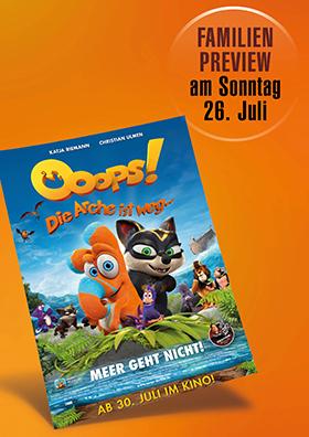Familenpreview: OOOPS! DIE ARCHE IST WEG...
