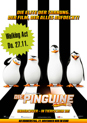 Die Pinguine aus Madagascar - Walking Act Tour