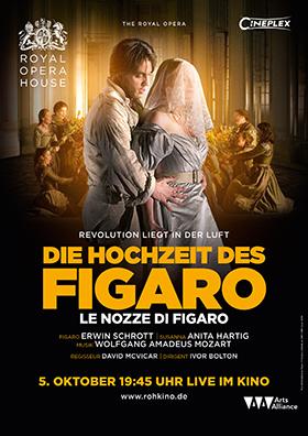 Royal Opera House London: DIE HOCHZEIT DES FIGARO