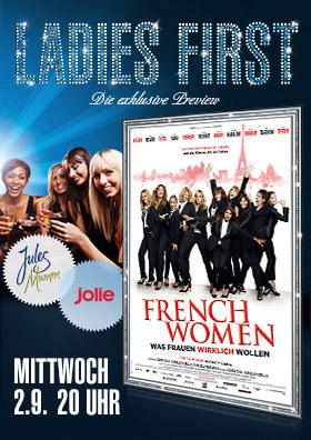 """Ladies First """"French Women - Was Frauen wirklich wollen"""""""