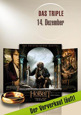 14.12. - Hobbit Triple