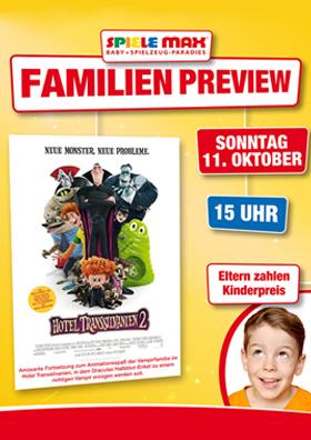 Familienpreview 11.10.   15 Uhr