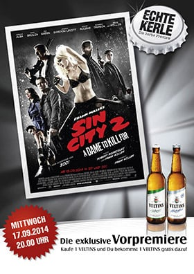 Echte-Kerle-Preview SIN CITY: A DAME TO KILL FOR (3D)