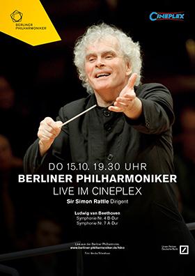 Berliner Philharmoniker Saison 2015/2016 Live im Kino!