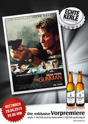 """Echte Kerle Preview """"The Gunman"""""""