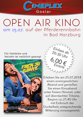 Open Air Kino - 25.07.