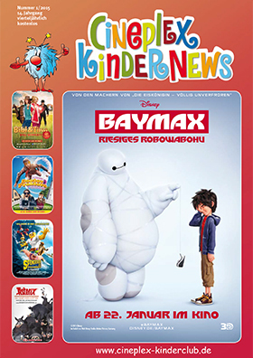 Cineplex Kindernews 1/2015