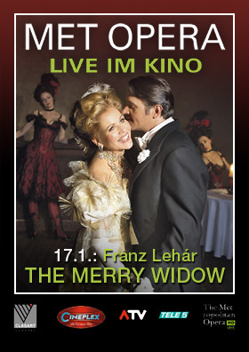 MET live: The Merry Widow (Lehár)