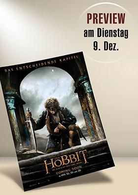 Preview - Der Hobbit: Die Schlacht der fünf Heere