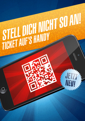 Ticket auf's Handy