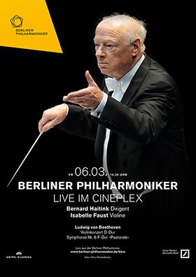 Berliner Philharmoniker mit Bernard Haitink & Isabelle Faust