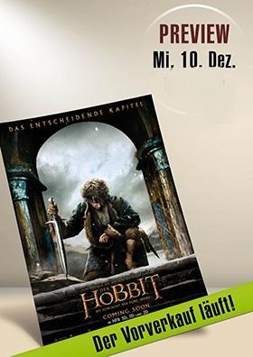 Der Hobbit Teil 3 - Vorverkaufsstart am 13.11.2014