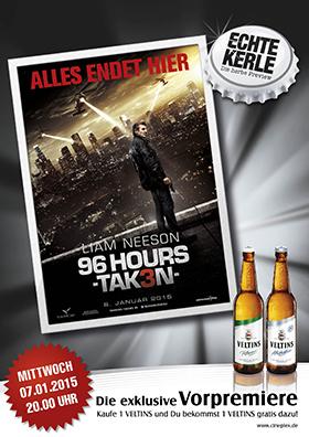 Echte-Kerle-Preview: 96 Hours - Taken 3