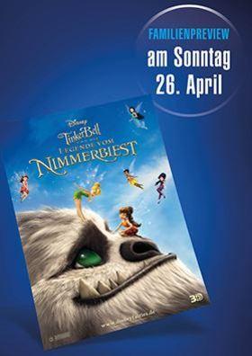 Familien-Preview: Tinkerbell und die Legende vom Nimmerbiest