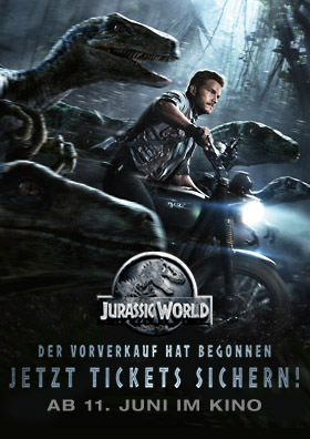 JURASSIC WORLD: VVK läuft!