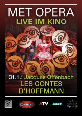 MET live: LES CONTES D'HOFFMANN