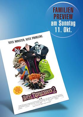 "Familienpreview "" Hotel Transsilvanien 2"""""