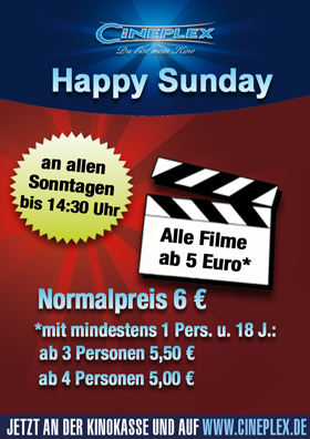 Happy Sunday Spar-Angebot
