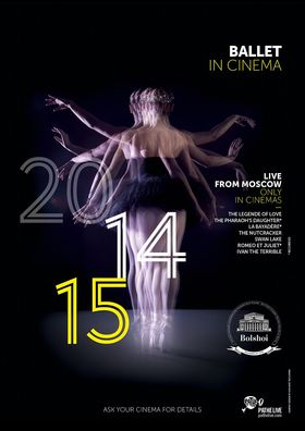 BOLSHOI Ballett Saison 2014/15