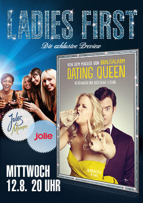 """Ladies First Preview """"Dating Queen - Trainwreck"""""""