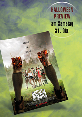 31.10. - Halloween Preview: Scouts vs. Zombies