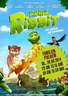 Familienpreview - Prinz Ribbit
