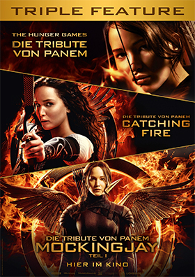Triple: Tribute von Panem: The Hunger Games/ Catching Fire/ Mocki