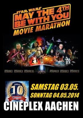 STAR WARS - MOVIE MARATHON