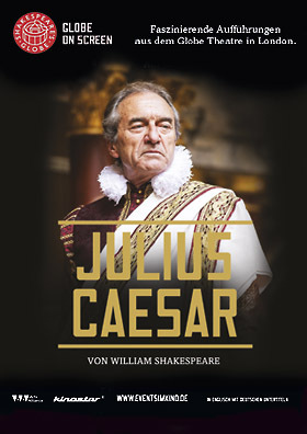 Shakespeare's Globe Theatre London: JULIUS CAESAR