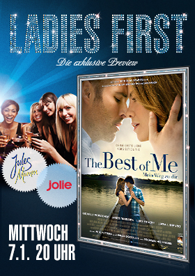 Ladies First Preview: THE BEST OF ME