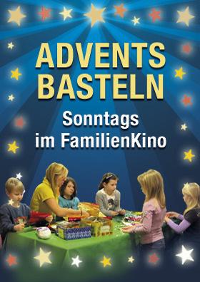 Advents-Basteln im FamilienKino