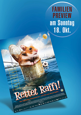 "die Familien-Preview ""Rettet Raffi"""