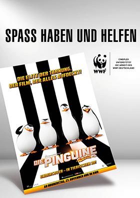 WWF Aktion - Die Pinguine aus Madagascar